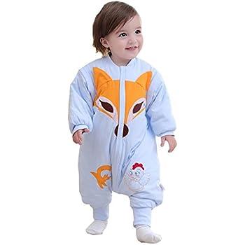 4231f50c451fd LifeWheel Surpyjama en coton bio coloré avec manches et ouvertures aux pieds  pour enfant de 6
