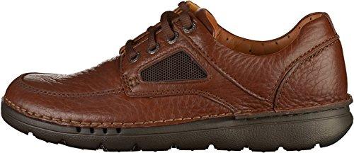 Clarks Chaussures Larges Occasionnelles de Mens de Temps de L'unnature Marron