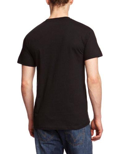 Plastichead - Maglietta, uomo Nero (Schwarz (Black))