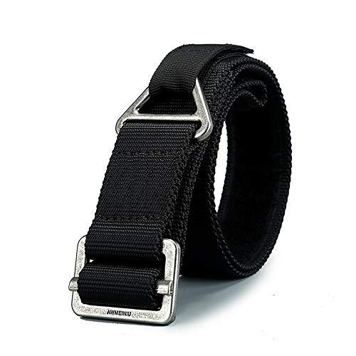 WXZB Cinturón táctico al aire libre Black Hawk cinturón deportivo etiqueta mágica...