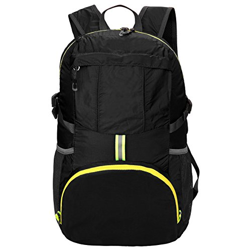 35L Ultralight Foldable Packable Backpack, Durable Lightweight Camping Travelling Hiking Daypack for Men and Women