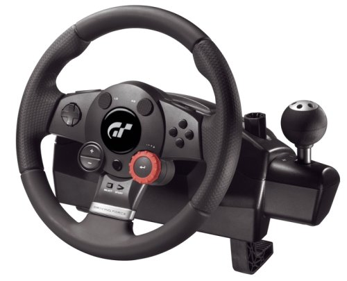 Logitech Driving Force GT - Rad- und Pedalsatz