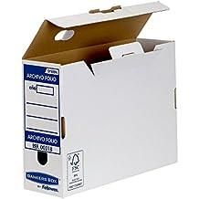 Bankers Box Folio Lomo 100 mm - Caja de archivo definitivo montaje automático