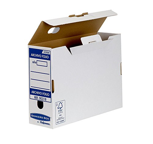 Bankers Box Folio Lomo 100 mm - Caja archivo definitivo