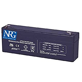 BURGLAR ALARM BATTERY RECHARGEABLE 2.3Ah suits applications ranging from 2.1Ah to 2.4Ah