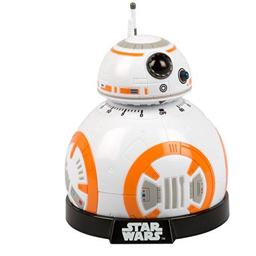 41CPWW%2BZ8TL. SS500  - Star wars Epvii: SW02722 Kitchen Timer: Bb-8 (Light And Sound), Orange/white