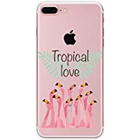 Hülle für iPhone 8,Hülle für iPhone 7,Homikon Silikon Hülle Karikatur Flamingo Blume TPU Silikon Tasche Handyhülle... preisvergleich bei billige-tabletten.eu