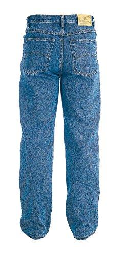 Rockford 'duke'homme-denim jeans tissus-coupe droite-stonewash, größenauswahl rJ110 Bleu - Délavé
