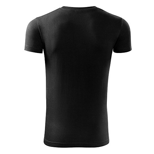 Herren Shirt I am not a morning person schwarz & weiß Motiv - T-Shirt Poloshirt mit Motiv - Neu S - XXL Schwarz
