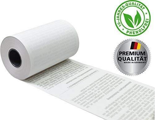EC Thermorollen mit SEPA-Lastschrifttext 57mm x 14m x 12mm [ØRolle 35mm] phenolfrei Drucker schonend 55g/m² ➤ 50 Stck. (50)