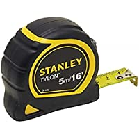 Stanley 1-30-696 Metric/Imperial Tape Measure with 19mm Blade, 5m/16'