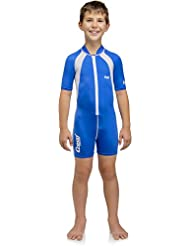 Cressi Caicos, Sun Protection Lycra Swimwear for Kids, Wetsuit for Boys and Girls