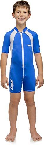 Cressi Caicos 1.5mm Shorty Kinder - Schwimmanzug Kinder Neopren Uv Schutz (1,5 Neoprenanzug Shorty Mm)