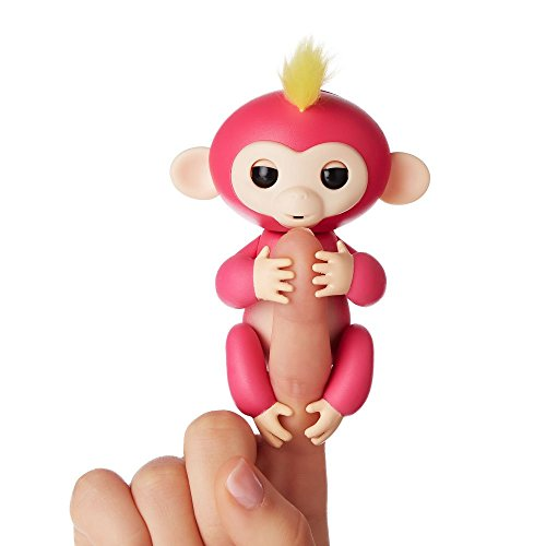 Fingerlings ouistiti rose bébé singe interactif de 12cm 0771171137054
