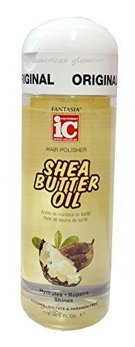 IC Fantasia Shea Butter Oil Hair Polisher Serum 178ml - Fantasia Ic-shea-butter