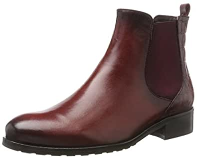 Vitti Love 952-33, Chelsea Boots Femme, Rot (Cardinal), 36 EU