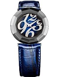 Jowissa J1.164.L - Reloj analógico de cuarzo para mujer con correa de piel, color azul