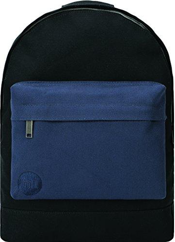 Mi-Pac Mochila de a diario, negro y azul marino (multicolor) - 740314-067