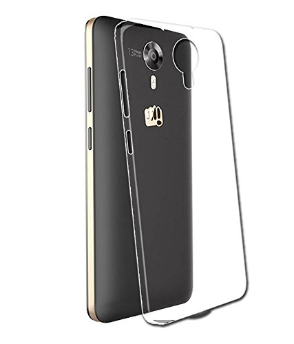 Evoque High Quality Ultra Thin Transparent Silicon Back Cover For Micromax Canvas Xpress 2 E313  available at amazon for Rs.125