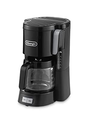De'Longhi ICM15240BK Filter Coffee Maker - Black