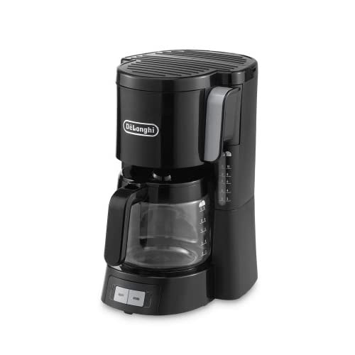 41CPdHZ6X8L. SS500  - De'Longhi Filter Coffee Machine ,1.3 Liters, Anti-drip system, ICM15240BK - Black