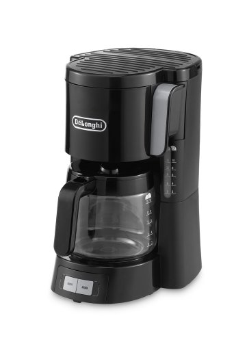 Delonghi-ICM15240-Front-Loading-Filter-Coffee-Maker-13-Litre-10-15-Cup-Capacity-1000-Watts-Black