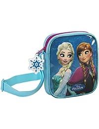 Die Eisk/önigin Elsa Anna Schultertasche Messenger 38 x 28 x 10 cm Disney Frozen S137 blau