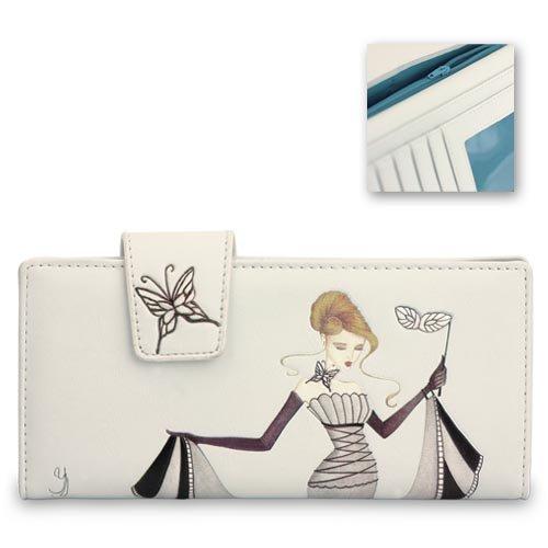 glass-slipper-leatherette-ladies-wallet-purse-yvette-jordan-by-vanity-fair