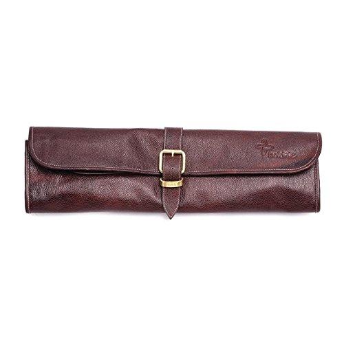 boldric cm556Messer Tasche, Leder, One Schnalle, 8Slots, braun