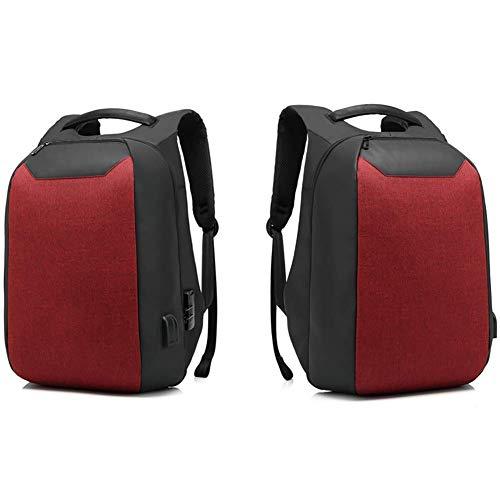 15c9925e9e45 ZLQF Sac à Dos Ordinateur Portable pour 15.6 Pouces avec Port de Charge USB  Sac à Dos Antivol Sac à Dos Résistant à l'eau pour Hommes et ...