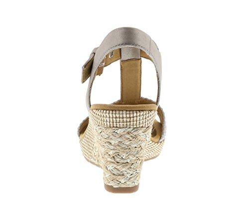 Gabor Damen Comfort Wedges Gold