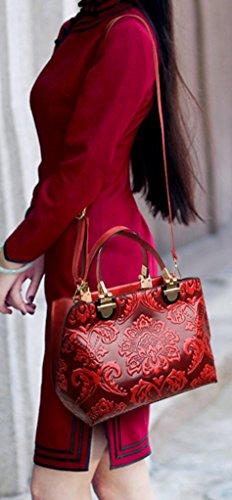 Keshi Leder neuer Stil Damen Handtaschen, Hobo-Bags, Schultertaschen, Beutel, Beuteltaschen, Trend-Bags, Velours, Veloursleder, Wildleder, Tasche Blau