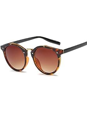 Gafas de Sol Vintage Lentes Redondos Gafas para Hombre y para Mujer
