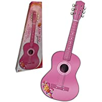 CLAUDIO REIG Guitarra de Madera, 75 cm, Color Rosa (7066)