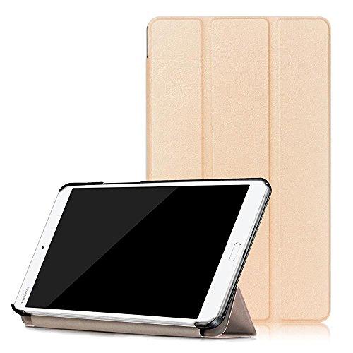 Preisvergleich Produktbild Huawei MediaPad M3 8.4 Tasche, DETUOSI® Flip Case Cover PU Leder Etui Tasche mit Standfunktion Schutzhülle für Huawei MediaPad M3 8.4 Zoll(2016 Edition) Leder Hülle Ultra Slim Lederetui Schale