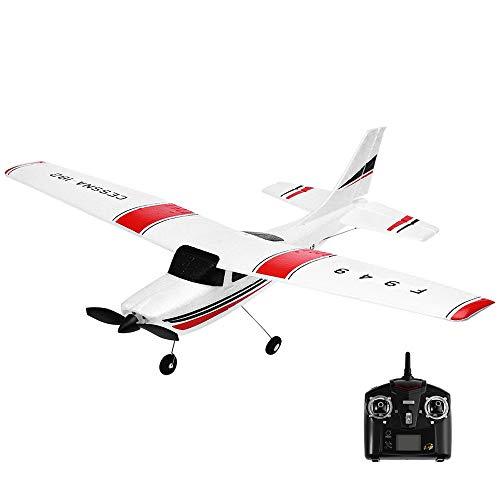 Jamicy Ferngesteuertes Flugzeug, RC Segelflugzeug, Wltoys F949 2.4G 3CH Mini Fernbedienung RC Radio Flugzeug Drohne