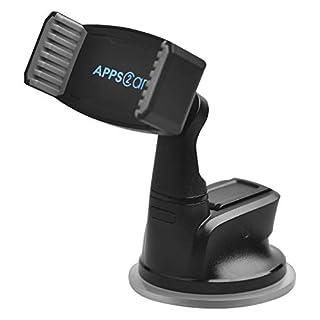 APPS2Car Armaturenbrett-Telefon-Halter-Saugnapf-Schlag-Windschutzscheiben-Telefon-Klammer für Telefon X 8 7 6S Plus 6 Galaxie S9 S8 S7 Kante S6 Anmerkung5 4 3 G5 G4 Xperia Z5 U12 11 GPS - MEHRWEG