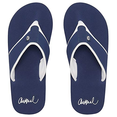 Animal Damen Swish Block Flip Flops Mid