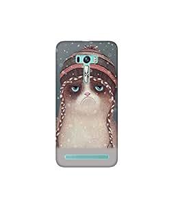Kolor Edge Printed Back Cover for Asus Zenfone Selfie - Multicolor (4400-Ke10661ZenSelfieSub)