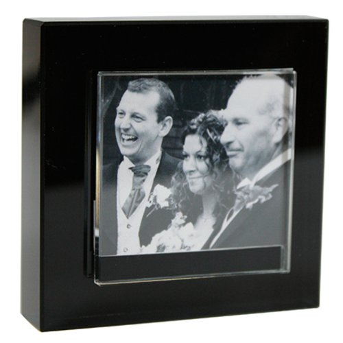 spaceform-small-block-colour-glass-photo-frame-black