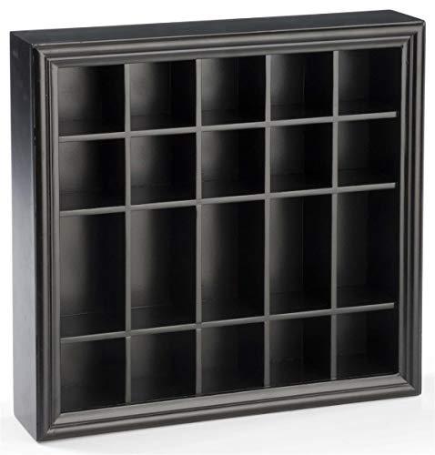 Displays2go 20Shot Glas Display Fall Halter Küchenplatte oder Wandhalterung Regal -