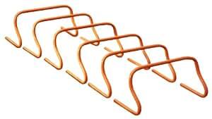 Mitre Training Hurdle Set - Orangr, 9-Inch