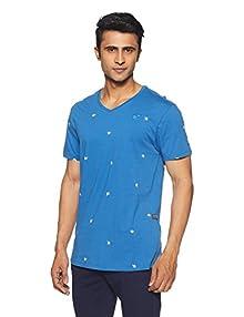 df03eb4843 G-Star RAW Men s T-Shirt (8718599500147 D00629-7799-5932 Large Dark Pop Blue