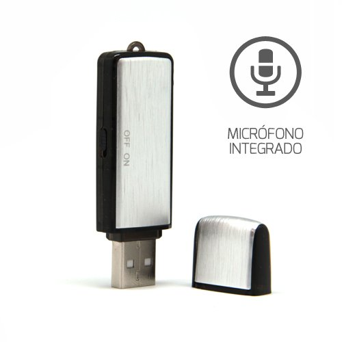 Unotec Pendrive Grabador de voz Journal 8Gb
