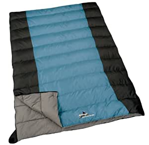 Vango Breakout Double Sleeping Bag (Smoke/Black)