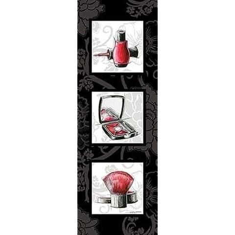 Impresión de Arte Fino en lienzo : Fashion Trio I by Gorham, Gregory - pequeña (24 x 70 Cms)