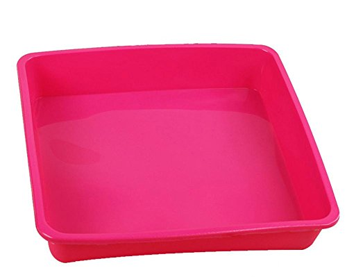 NWYJR Allgemeine Backen Werkzeug Quadrat Toast Silikon Schimmel Silikon-Backform ökologisch freundlichen hitzebeständig und leicht zu sauberen 2pcs