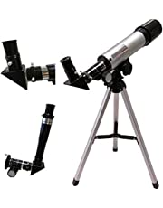 ADEPT Outdoor HD Monocular Space Telescope Astronomical 90X Refractive Telescope with Portable Travel Tripod Adjustable Level