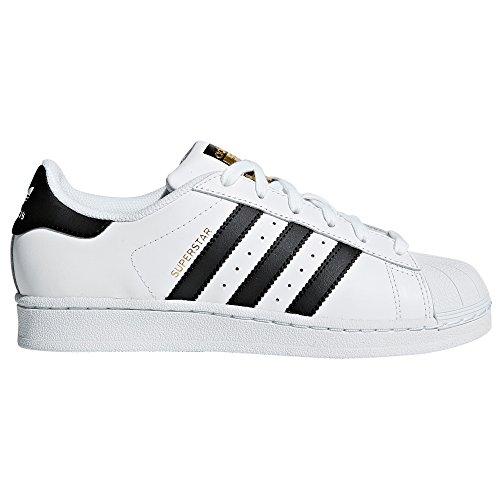 Adidas Womens Trainer (adidas Superstar Women Sneaker Trainer Weiß. Mode Schuhe (38 2/3 EU, Ftwr White/Core Black/Ftwr White))
