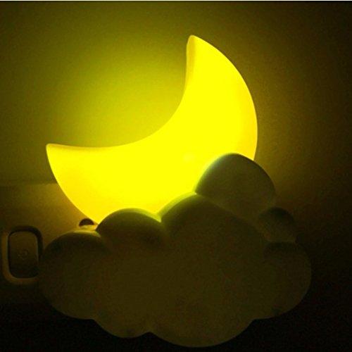 $Nachtlicht Intelligente Fernbedienung LED Schlaf Nachtlicht Schlafzimmer Bedside Kinderzimmer Baby Fütterung energiesparende Nachtlicht